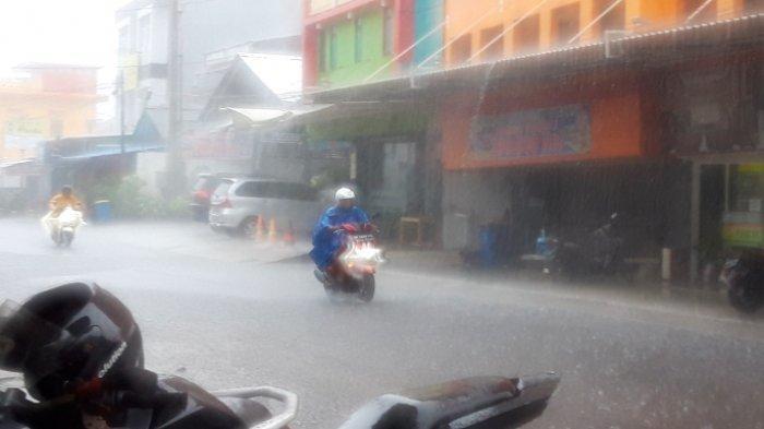 Meskipun Langit Babel Cerah, BMKG Prediksi Akan Turun Hujan, Tinggi Gelombang Masih Kondusif