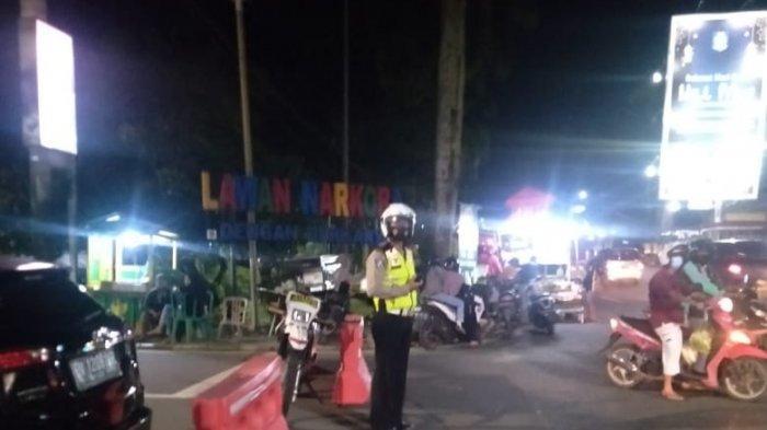 Satlantas Polres Pangkalpinang Buru Pelanggar Lalu lintas dan Tak Pakai Masker