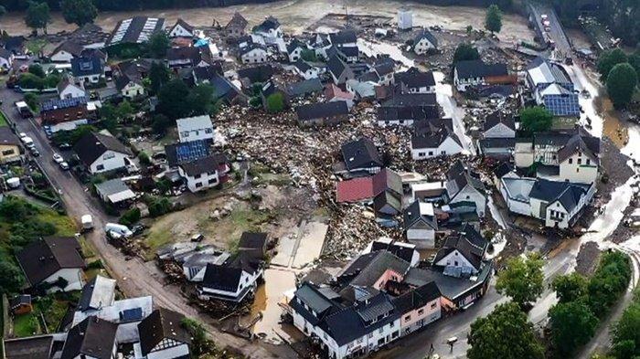 Banjir Hebat di Jerman, 11 Tewas dan 70 Hilang, Dua di Antara Korban adalah Petugas Penyelamat