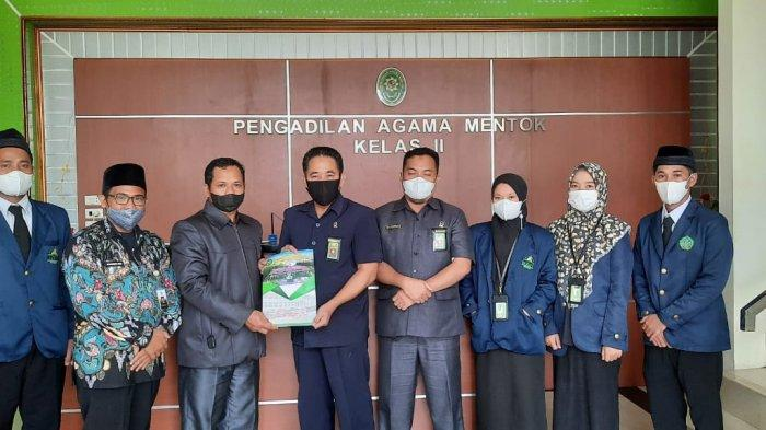 Perdalam Praktik Ilmu Hukum, Mahasiswa Prodi HKI Ikuti PKL di Pengadilan Agama Muntok