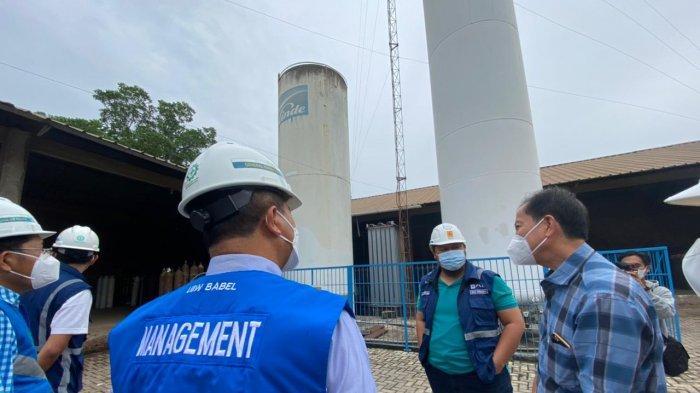 Siaga Covid-19, PLN Bangka Belitung Siap Menjaga Pasokan Listrik Industri Pengolahan Oksigen