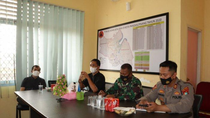 BPBD Gelar Rapat Lintasan Sektoral Bersama TNI Polri, Rekomendasi Kegiatan Harus Diketahui RT