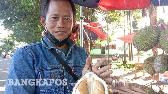 Mengenal Durian Citra Manis, si Juara Kontes dari Desa Penagan Babel yang Musim Ini Laris Manis