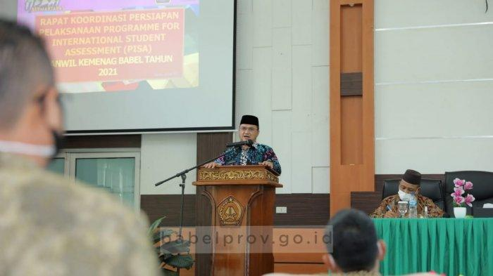 Gubernur Bangka Belitung Tingkatkan Performa Akademis Program Penilaian Pelajar Internasional
