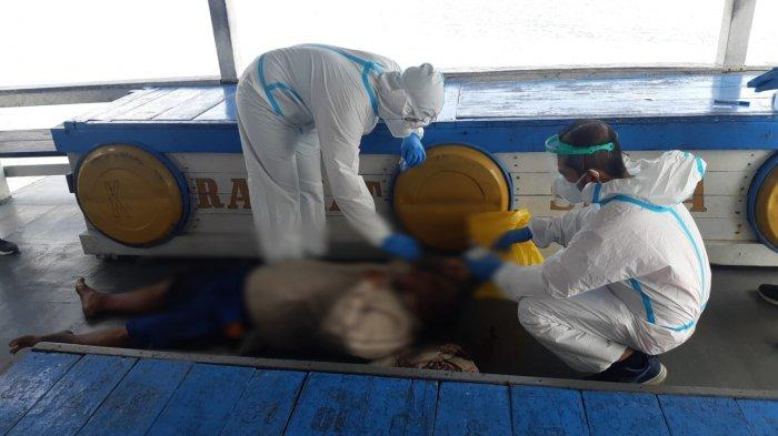 TNI AL dan KKP Evakuasi ABK KM Setia Rahmat