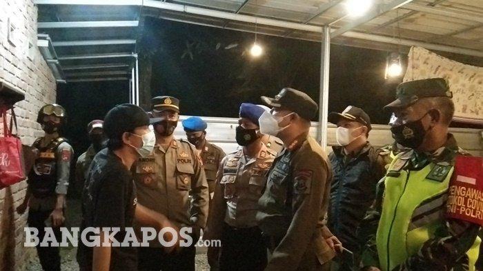 Razia Jam Malam, Pemilik Kafe di Pangkalpinang Marah saat Didatangi Petugas Gabungan