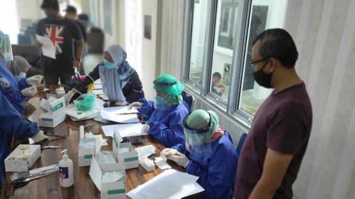 Antisipasi Penyebaran Covid-19, Seluruh Pegawai Kejari Bangka Barat Jalani Rapid Test Antigen