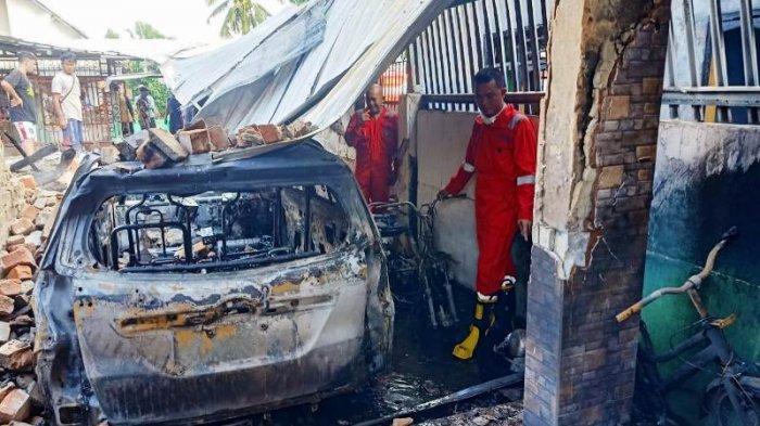 Kebakaran di Tukak Sadai Hanguskan Mobil dan Motor, Ini Penyebab Menurut Tim Damkar