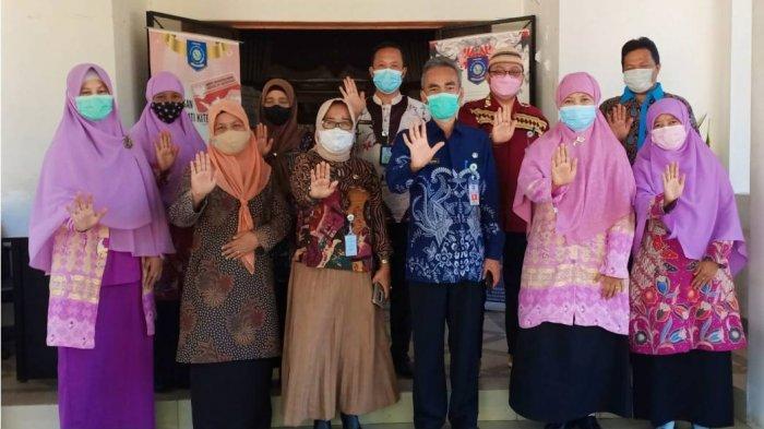Sosialisasikan Program SERASI, Pengurus PW Salimah Babel Berkunjung ke Tiga Instansi Pemerintah