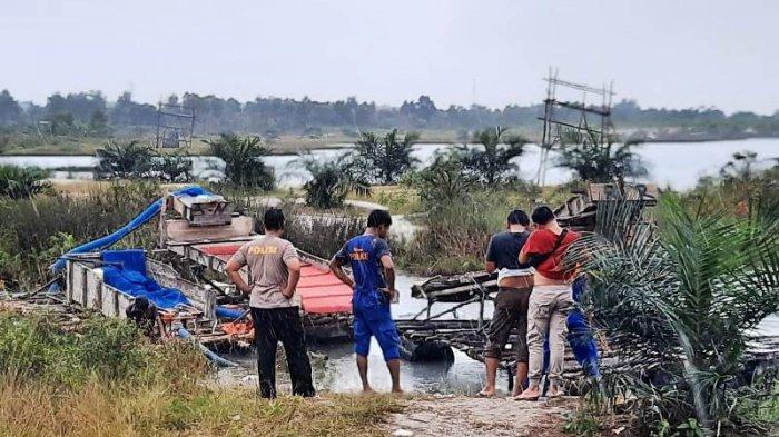 3 Penambang dan Pemilik Ponton TI Ilegal Kolong Marbuk, Kenari Dan Pungguk ditangkap