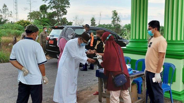Bupati Riza Minta Jemaah Salat Idul Adha Tetap Perhatikan Protokol Kesehatan