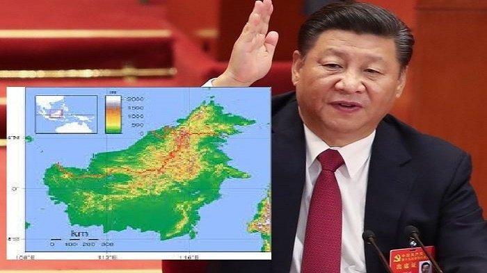 Fakta Sebenarnya Terkait China Dikabarkan Ambil Pulau Kalimantan Sebagai Jaminan Utang Indonesia