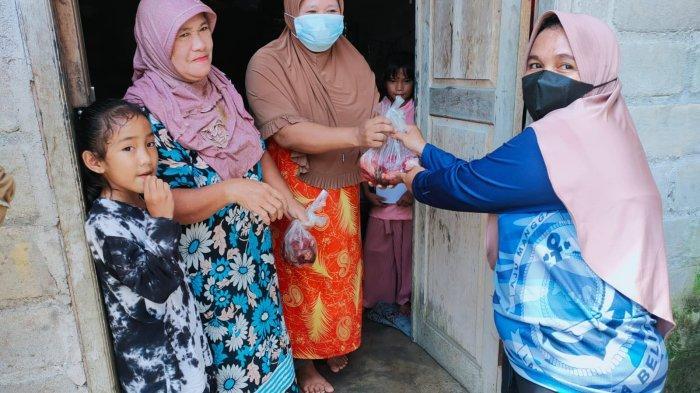 Pangkalan TNI AL Bangka Belitung melaksanakan kegiatan penyembelihan hewan kurban dalam rangka hari Raya Idul Adha 1442 H di Mako Lanal Babel, Selasa (20/7/2021).