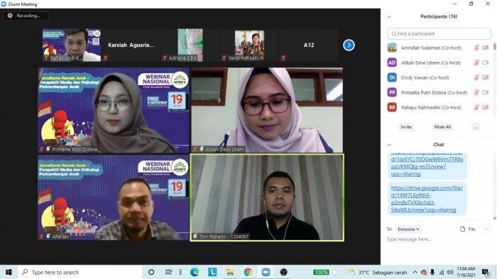 Prodi Jurnalistik Islam IAIN SAS Babel Sukseskan Gelar Webinar Nasional
