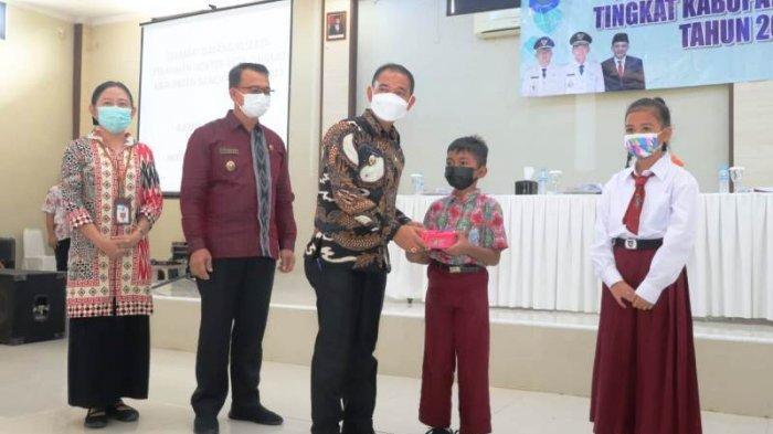 12 Pelajar SD di Kabupaten Bangka Belajar Jadi Dokter Cilik