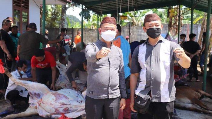 Perayaan Iduladha di Kabupaten Bangka, Pemkab Bangka Sembelih 32 Ekor Sapi Kurban