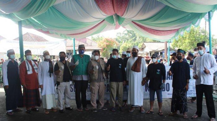 Masjid Jamik Belinyu Kurban 14 Sapi, Satu dari Presiden Jokowi