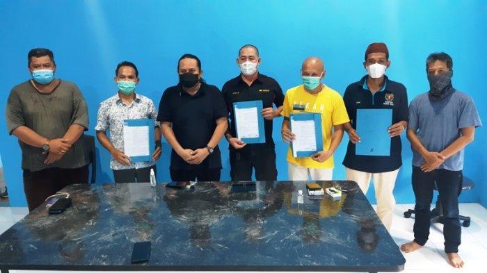 Empat PWI Kabupaten Terima SK dari PWI Bangka Belitung