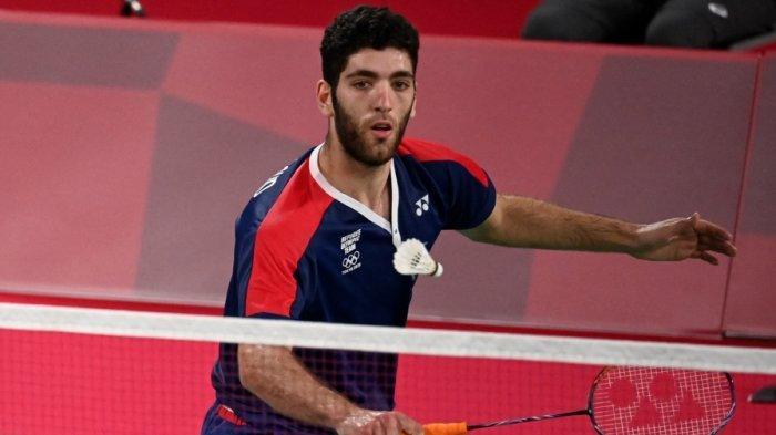 Kalah dari Jonatan Chriestie di Olimpiade Pertamanya, Aram Mahmoud Buat Pernyataan Mengesankan