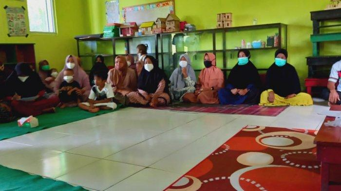 Ismail Yuhaidir sambangi yayasan Pendidikan Hadiqotul Amien Puding Besar, Bangka, Jum'at (23/7/2021).
