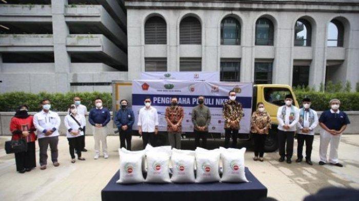 Wujud Solidaritas Pengusaha Donasi 35.000 Ton, Untuk Masyarakat Terdampak Pandemi Covid-19
