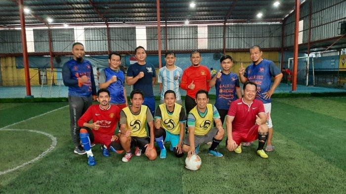 Pertandingan Persahabatan Futsal IAIN SAS Babel FC Vs Juragan Madu Bangka FC