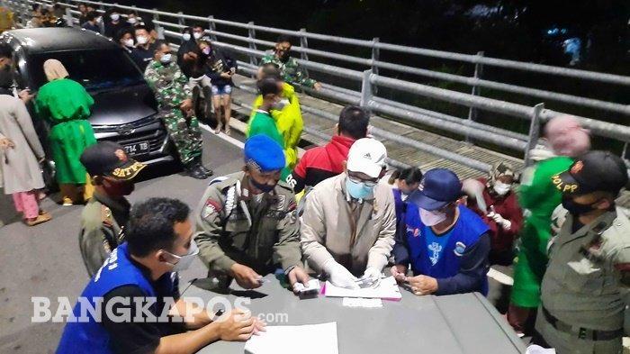 Tim Gabungan Swab 86 Pengunjung di Tiga Tempat, Satu Orang Positif Covid-19