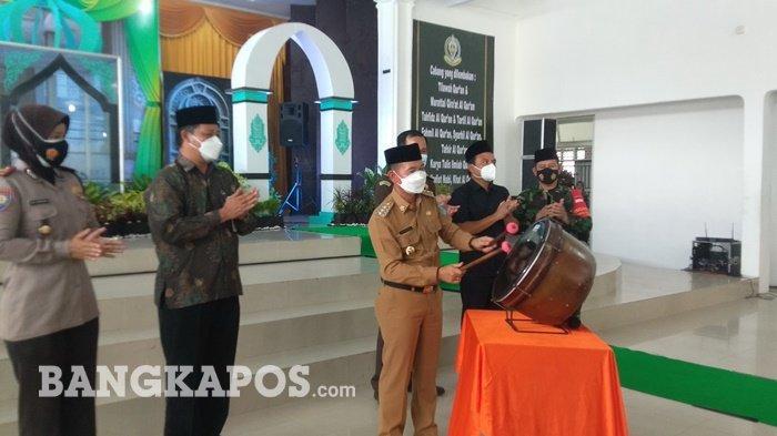 Pembukaan MTQH Bangka, 251 Peserta Siap Bersaing Mewakili Kabupaten ke Tingkat Provinsi