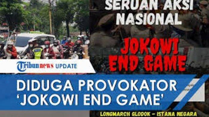 Inilah Orang yang Dituding Jadi Provokator Aksi Jokowi End Game Tolak PPKM, Seruannya Tak Terbukti