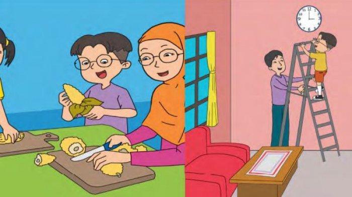 Materi Belajar Kelas 2 SD Tema 8 Sub Tema 1: Aturan Keselamatan di Rumah Lengkap  Soal dan Jawaban