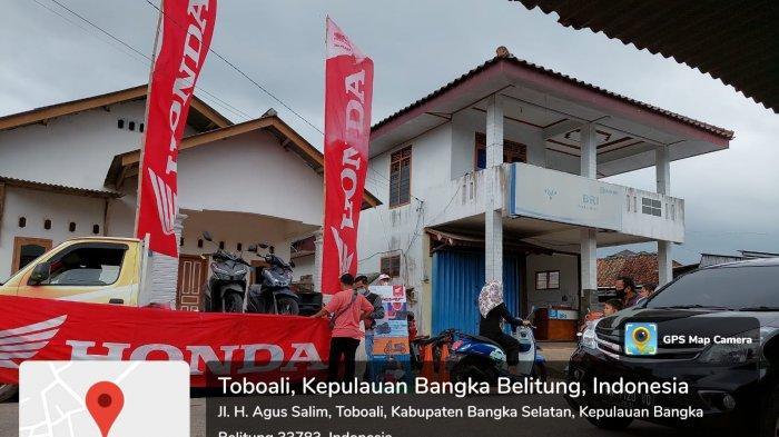 Honda ASP Toboali Kembali Berbagi di Tengah Pandemi