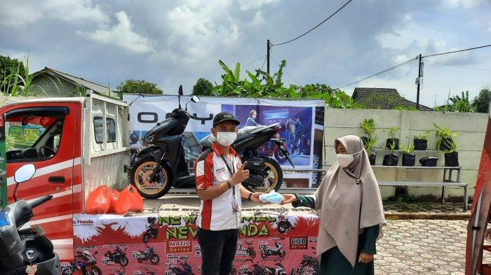 Satu Hati Bersama Kelurahan Gajah Mada, Dealer ASP Adakan Paket Service Ekonomis dan Bagi Masker