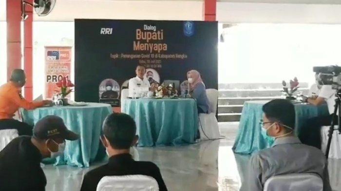 Mulkan Diskusi dengan Kepala OPD Hingga Ketua RT Bahas Penangan Covid-19 di Kabupaten Bangka