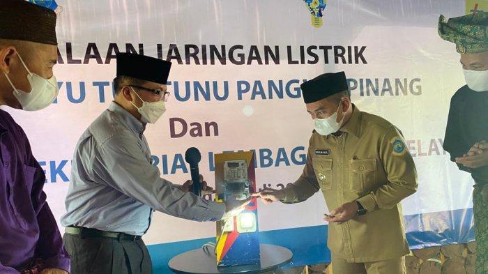 Dukung Pelestarian Budaya Melayu, PT PLN Listriki Kawasan Masjid Kayu Tua Tunu Pangkalpinang