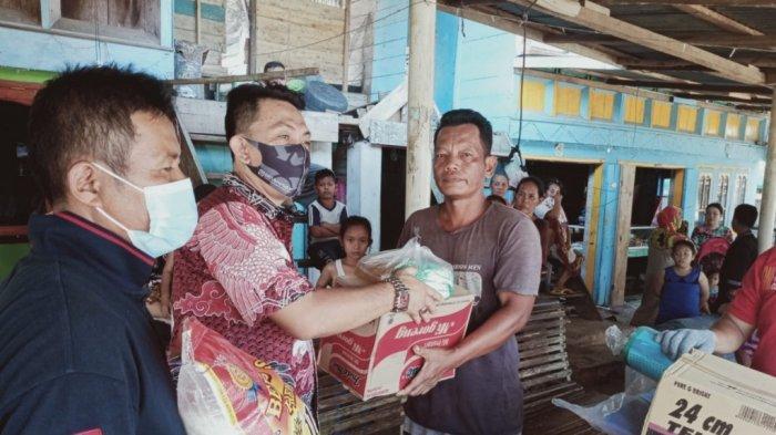 Pemda Bangka Selatan Salurkan Bantuan kepada Korban Rumah Terbakar di Dusun Serdang