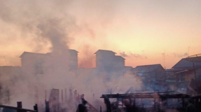 13 Rumah di Dusun Serdang Desa Jelutung Ludes Terbakar saat Warga Terlelap