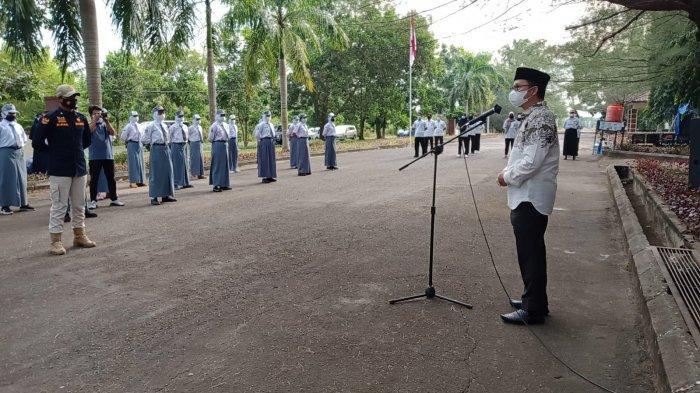 36 Calon Paskibraka Bangka Tengah Mulai Jalani Latihan, Sebelum Karantina Dilakukan Swab