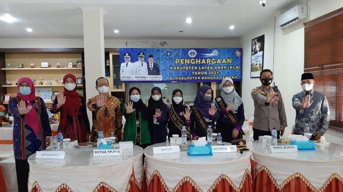 Bangka Tengah Raih Penghargaan Kabupaten  Layak Anak Lima Kali  Berturut-turut