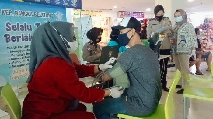 Perpanjang SIM di Gerai SIM Corner BTC Mall Pangkalpinang Bisa Sambil Vaksin
