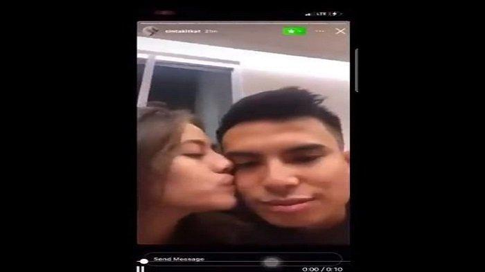 Heboh Video Mesra Adhisty Zara dan Niko Al Hakim Tersebar di Twitter
