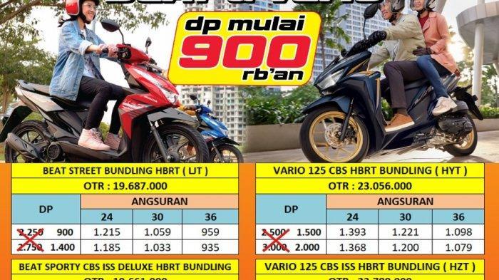 Tunas Honda Bangka Selatan Promo Akhir Bulan Juli Cukup Bayar Dp Rp900.000