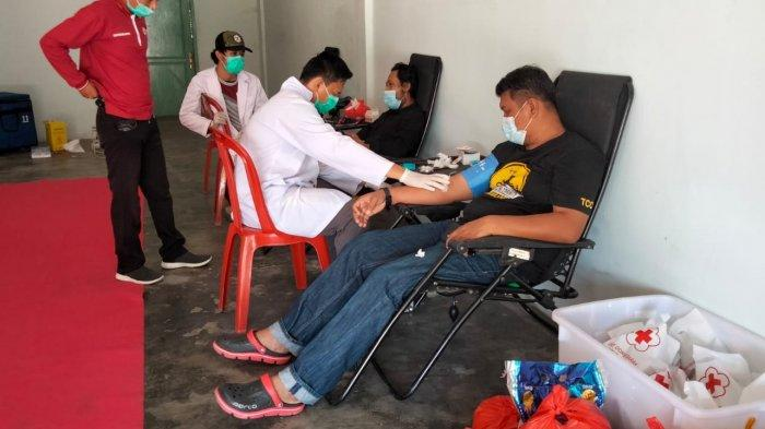 PMI Bersama Komunitas dan Lembaga Swadaya Masyarakat Gelar Donor Darah Massal