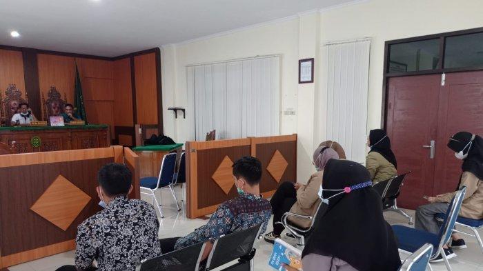 Mahasiswa PKL Prodi HKI Gelar Praktik Peradilan Semu
