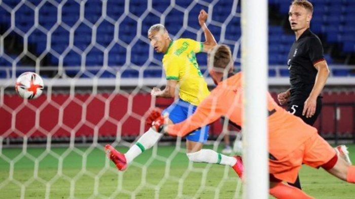Olimpiade Tokyo 2020 (2021), Hat-trick Richarlison Obati Tangisan Brasil di Copa America