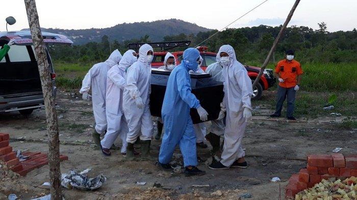 Rekor! Hari Ini 12 Pasien Covid-19 di Kabupaten Bangka Meninggal Dunia