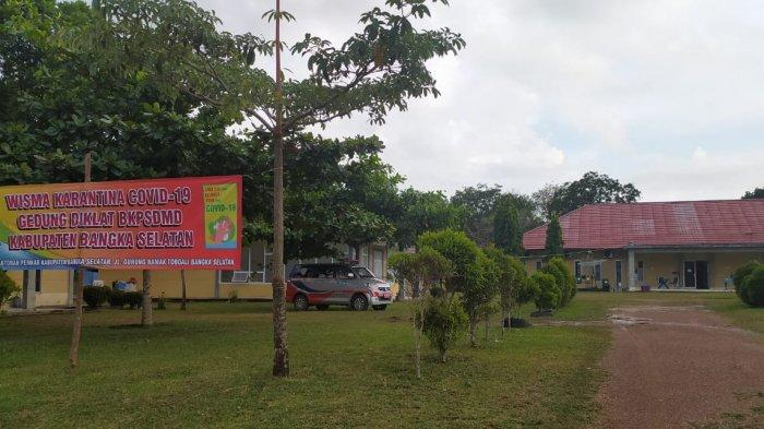 Gedung Wisma Karantina Covid-19 Bangka Selatan Bakal Diaktifkan Pekan Depan