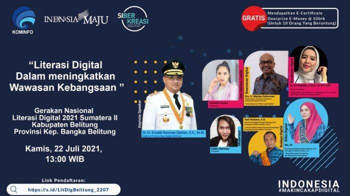 Literasi Digital di Belitung Bahas Peran Digital Tingkatkan Pemahaman Warisan Budaya