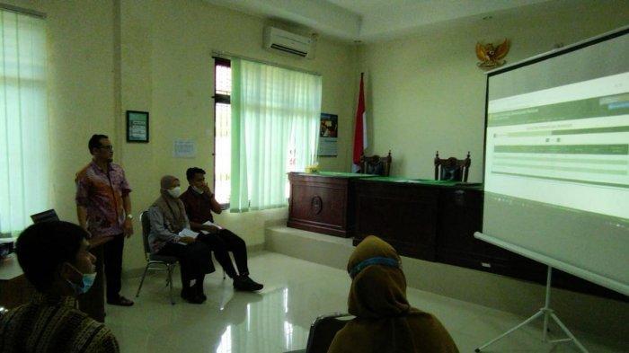 Mahasiswa PKL Prodi HKI Perdalam Materi Penggunaan Aplikasi SIPP dan E-Court