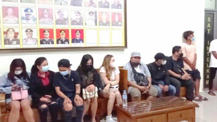 THM di Pangkalpinang Ini Nakal, Tepergok Polisi Beroperasi Meski Sedang PPKM, Ada Belasan Pengunjung