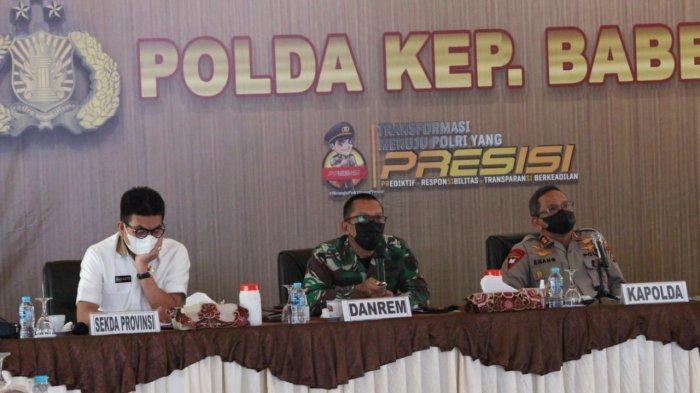 Dandrem Dukung Operasi Penertiban Teluk Kelabat,Kapolda Bangka Belitung Ingin Konflik Segera Selesai